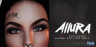 Allura Eyelashes For Catwa Head 1L Promo Gift by BEAUTY GLAM - Teleport Hub - teleporthub.com
