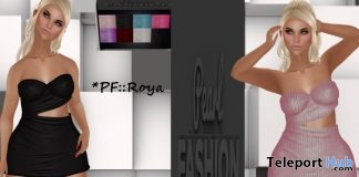 Roya Dress January 2018 Group Gift by Pearl Fashion - Teleport Hub - teleporthub.com