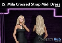 New Release: [S] Mila Crossed Strap Midi Dress by [satus Inc] - Teleport Hub - teleporthub.com