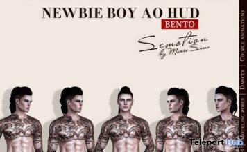 Newbie Boy Bento AO HUD 1L Promo Gift by SEmotion - Teleport Hub - teleporthub.com