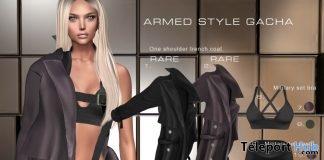 New Release: Armed Style Gacha For Female by GABRIEL @ Shiny Shabby January 2018 - Teleport Hub - teleporthub.com