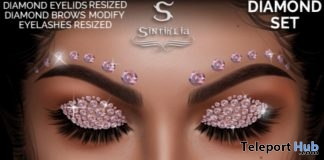 Diamond Eyelids & Brows Set 1L Promo Gift by Sintiklia - Teleport Hub - teleporthub.com
