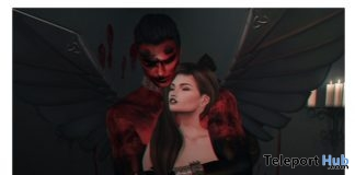 My Devil Couple Pose January 2018 Group Gift by COME SOON POSES - Teleport Hub - teleporthub.com