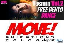 Yasmin 27 Bento Dance Gift by MOVE! Animations Cologne - Teleport Hub - teleporthub.com