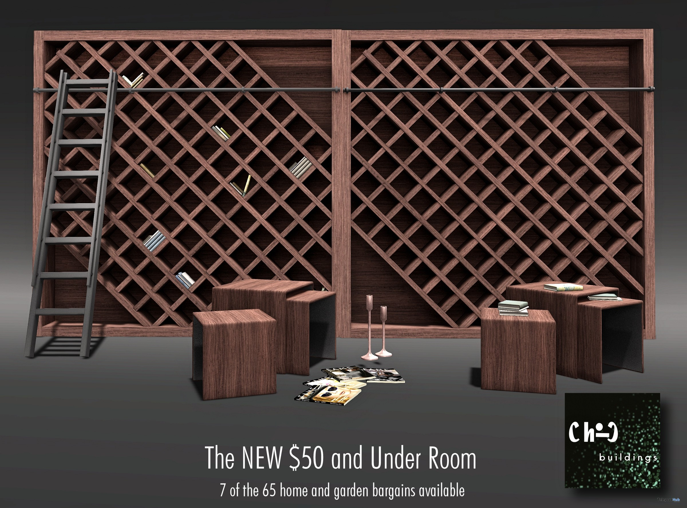 50 Linden and Under Room Promo by ChiC buildings - Teleport Hub - teleporthub.com