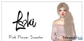 Pink Flower Sweater Gift by Loki - Teleport Hub - teleporthub.com