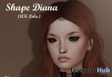 Diana Shape For AKERUKA Lulu Head Gift by Be you - Teleport Hub - teleporthub.com