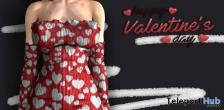 Heart Dress Valentine 2018 1L Promo Gift by SPIRIT - Teleport Hub - teleporthub.com