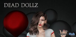 Top & Shorts Valentine 2018 Group Gift by Dead Dollz - Teleport Hub - teleporthub.com