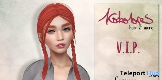 Corinna Hair February 2018 Group Gift by KoKoLoReS - Teleport Hub - teleporthub.com