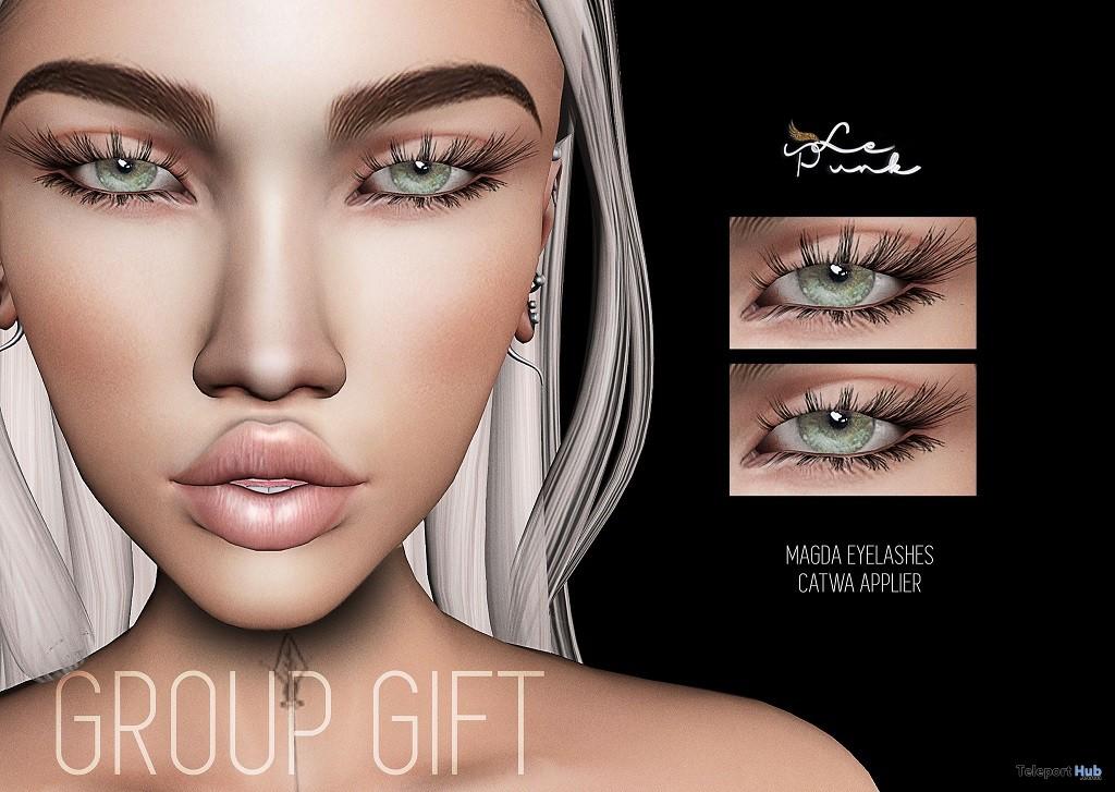 Magda Eyelashes March 2018 Group Gift by LePunk - Teleport Hub - teleporthub.com