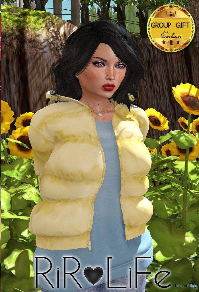 Padded Jacket With Pullover February 2018 Group Gift by Rir Life Design - Teleport Hub - teleporthub.com