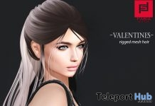Ponytail Hair Valentine 2018 Group Gift by FABIA - Teleport Hub - teleporthub.com