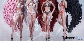 Lingerie & Wings Valentine 2018 Group Gift by Scandalize - Teleport Hub - teleporthub.com
