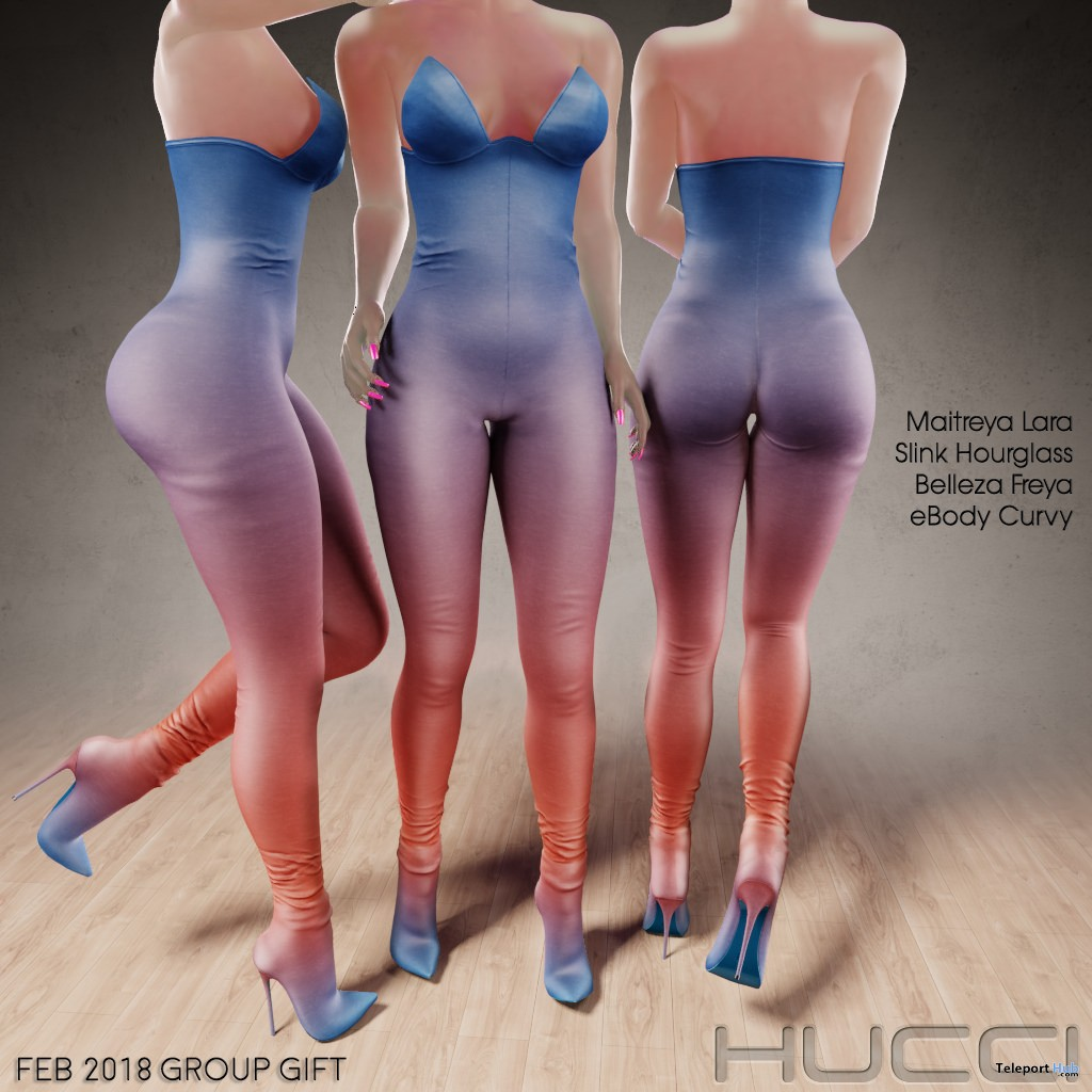 Whistler Body Stocking February 2018 Subscriber Gift by Hucci - Teleport Hub - teleporthub.com