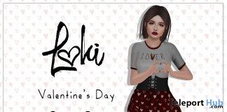 Lover Dress Valentine 2018 Group Gift by Loki - Teleport Hub - teleporthub.com