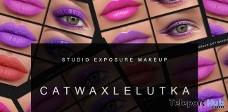 February Makeup Collection For Catwa & Lelutka Heads February 2018 Group Gift by STUDIO EXPOSURE MAKEUP - Teleport Hub - teleporthub.com