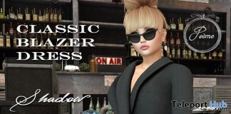 Shadow Classic Blazer February 2018 Group Gift by {Poeme} - Teleport Hub - teleporthub.com