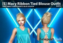 New Release: [S] Macy Ribbon Tied Blouse Outfit by [satus Inc] - Teleport Hub - teleporthub.com