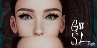 Dark & Blue Mesh Eyes 5L Promo Gift by Be you - Teleport Hub - teleporthub.com