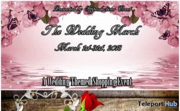 The Wedding March Shopping Event & Hunt - Teleport Hub - teleporthub.com