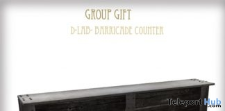 Barricade Counter Group Gift by D-LAB - Teleport Hub - teleporthub.com