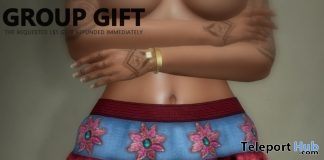 Jane Valentine Boho Mini Skirt February 2018 Group Gift by HEC - Teleport Hub - teleporthub.com