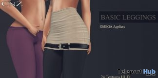 Basic Leggings March 2018 Group Gift by CNZ - Teleport Hub - teleporthub.com