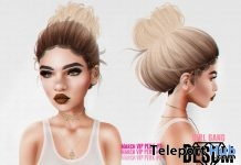Girlgang Bun Hair Fatpack March 2018 Group Gift by Besom - Teleport Hub - teleporthub.com