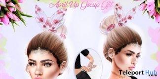 Precious Bunny Hair Gift Set April 2018 Group Gift by Besom - Teleport Hub - teleporthub.com
