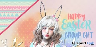 Bunny Sweater, Necklace, & Ears Easter 2018 Group Gift by NS - Teleport Hub - teleporthub.com