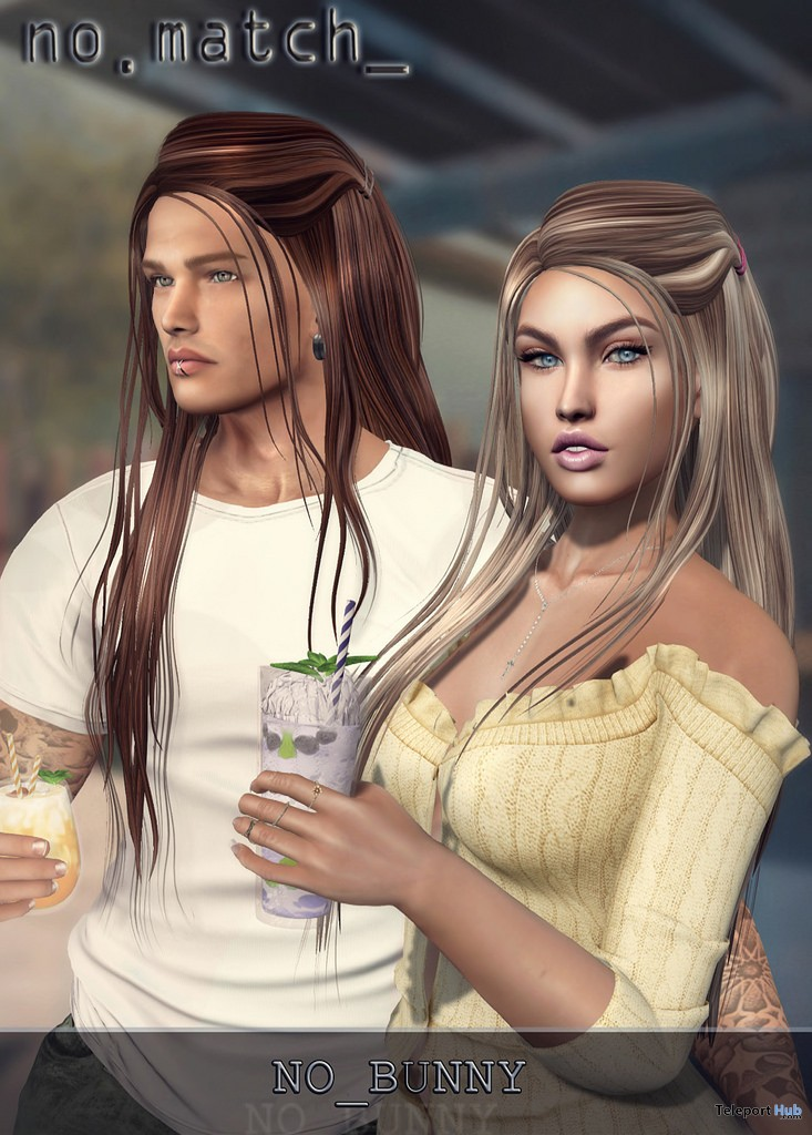 No Bunny Hair Unisex Easter 2018 Group Gift by no.match - Teleport Hub - teleporthub.com