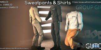 Sweatpants & Shirts Premium March 2018 Group Gift by GUTCHI - Teleport Hub - teleporthub.com