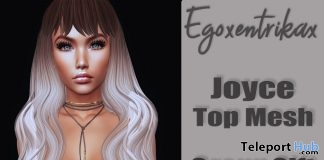 Joyce Top March 2018 Group Gift by Egoxentrikax - Teleport Hub - teleporthub.com