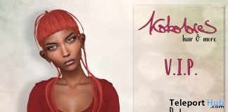 Pola Hair March 2018 Group Gift by KoKoLoReS - Teleport Hub - teleporthub.com