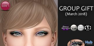 Spring Gradient Eyeshadows March 2018 Group Gift by Izzie's - Teleport Hub - teleporthub.com