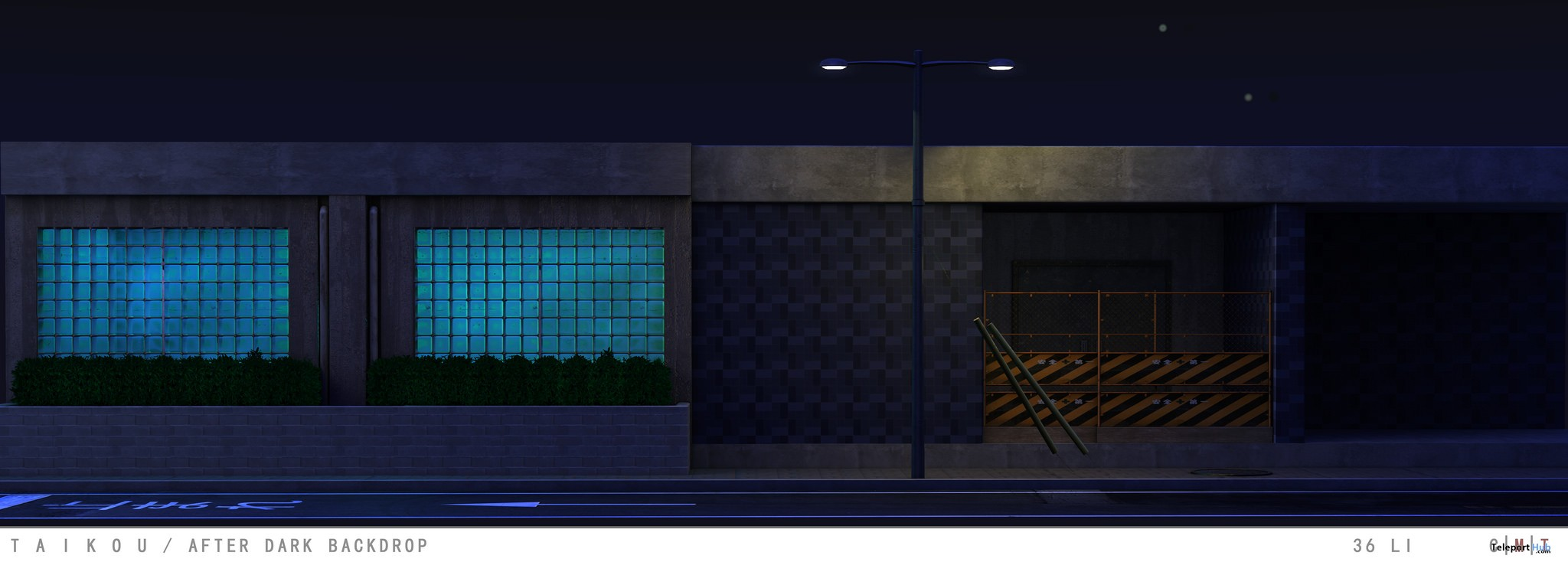 After Dark Backdrop March 2018 Group Gift by Taikou - Teleport Hub - teleporthub.com