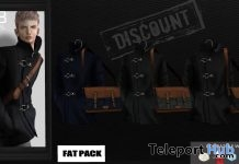 Stand Collar Jacket 1L Limited Time Promo Gift by Gabriel - Teleport Hub - teleporthub.com