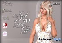 Easter Dress April 2018 Group Gift by Graffitiwear - Teleport Hub - teleporthub.com