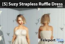 New Release: [S] Suzy Strapless Ruffle Dress by [satus Inc] - Teleport Hub - teleporthub.com