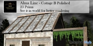 Alma Line Cottage B Polished March 2018 Group Gift by MB Content Creators - Teleport Hub - teleporthub.com