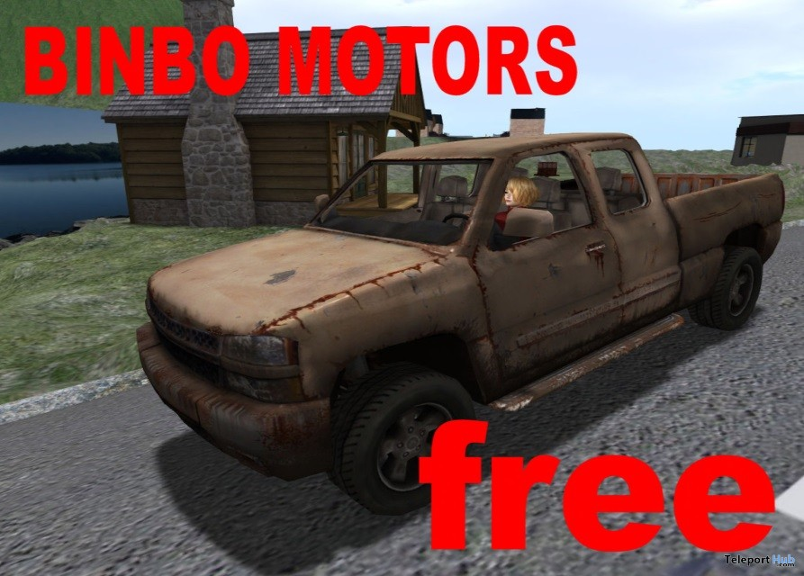 Rusty Truck Gift by Binbo Motors - Teleport Hub - teleporthub.com