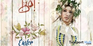 Marzia Bow Dress Easter 2018 Group Gift by !gO! - Teleport Hub - teleporthub.com