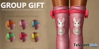 Leg Warmers Easter 2018 Group Gift by HEC - Teleport Hub - teleporthub.com