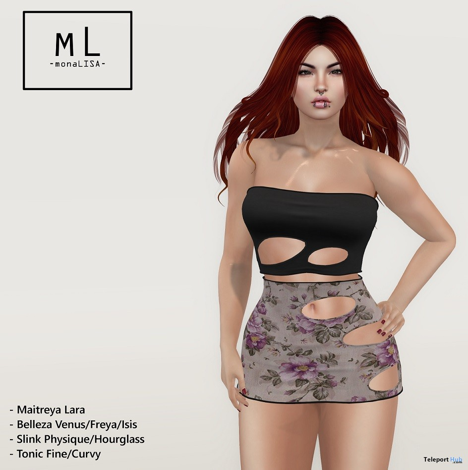 Nawal Outfit March 2018 Group Gift by monaLISA - Teleport Hub - teleporthub.com
