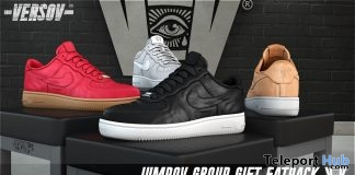 Jumpov Unisex Sneakers April 2018 Group Gift by VERSOV - Teleport Hub - teleporthub.com