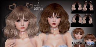 Teri Hair April 2018 Group Gift by Sintiklia - Teleport Hub - teleporthub.com
