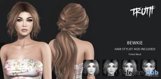 Bewkie Hair April 2018 Group Gift by TRUTH HAIR - Teleport Hub - teleporthub.com