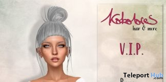 Benny Hair April 2018 Group Gift by KoKoLoReS - Teleport Hub - teleporthub.com