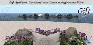 Love Story Outdoor Set April 2018 Group Gift by Tm Creation - Teleport Hub - teleporthub.com
